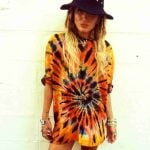 Camisetas hippies tie dye