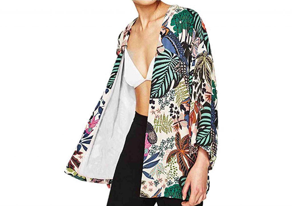 Kimono Hippie Chic Floral