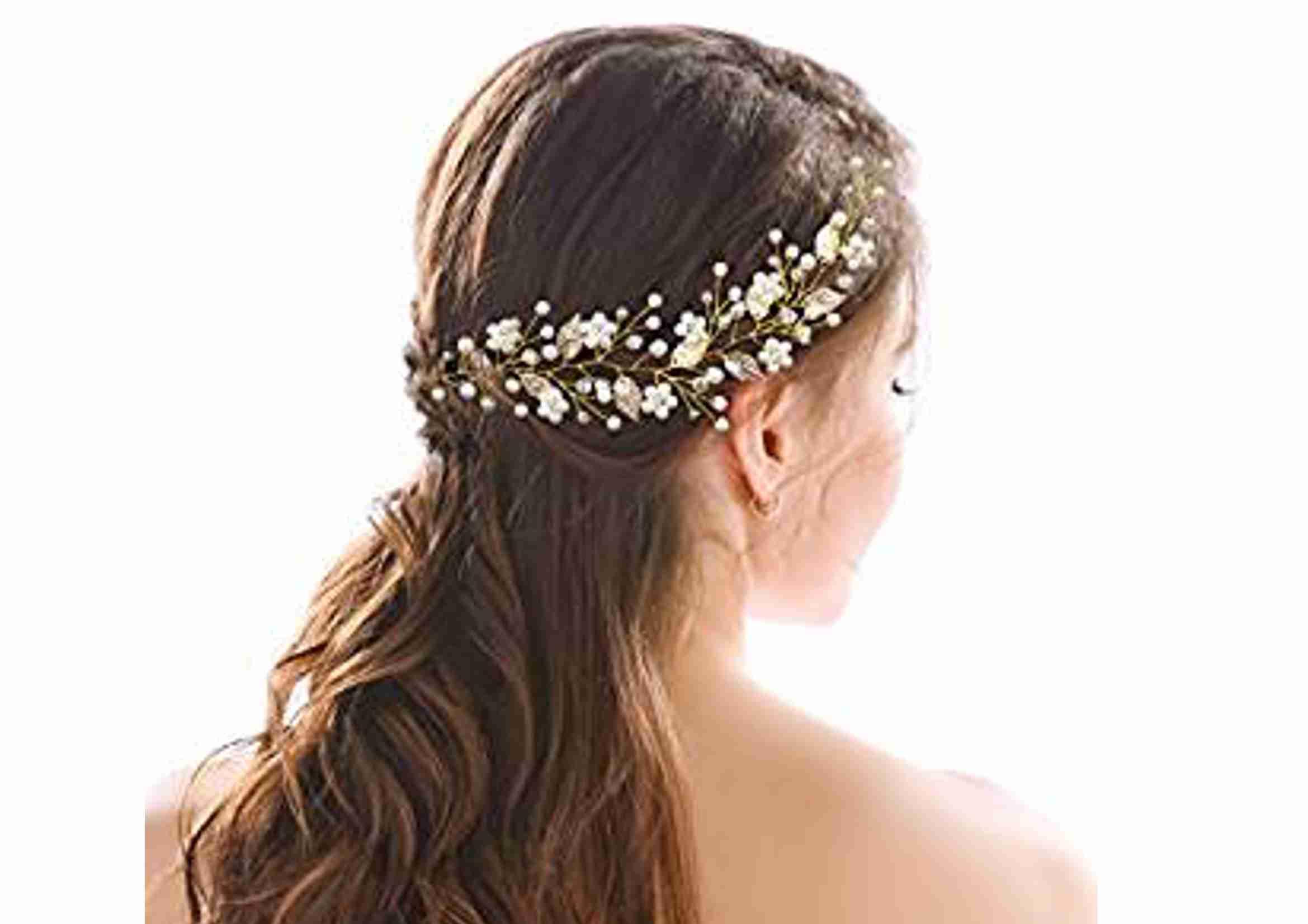 diadema novia boho estilo griego