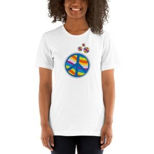 camisetas hippies peace