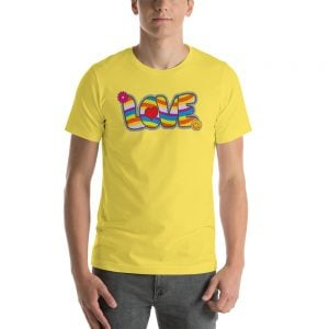 camisetas hippies love