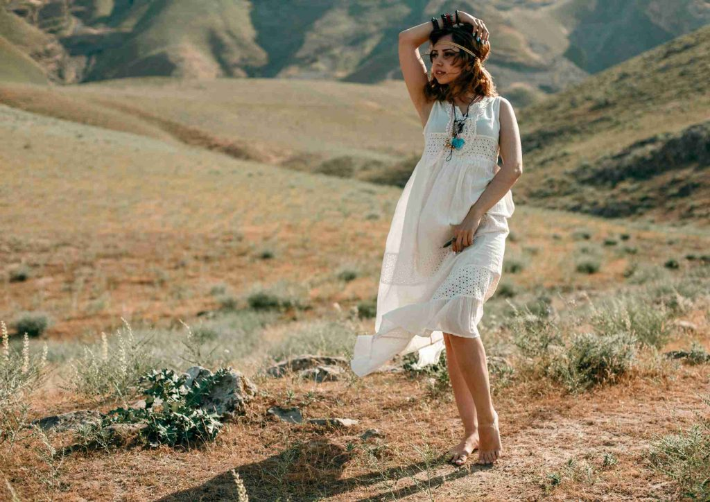 Vestido Corto Hippie Chic