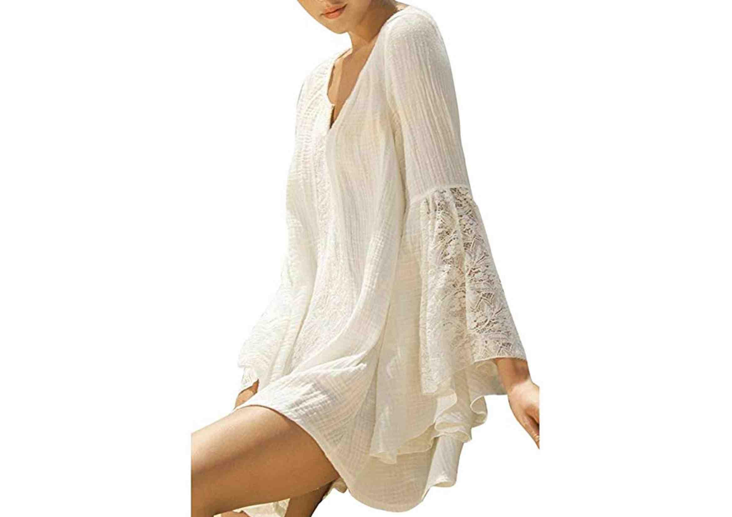 vestidos ibicencos cortos casual 2