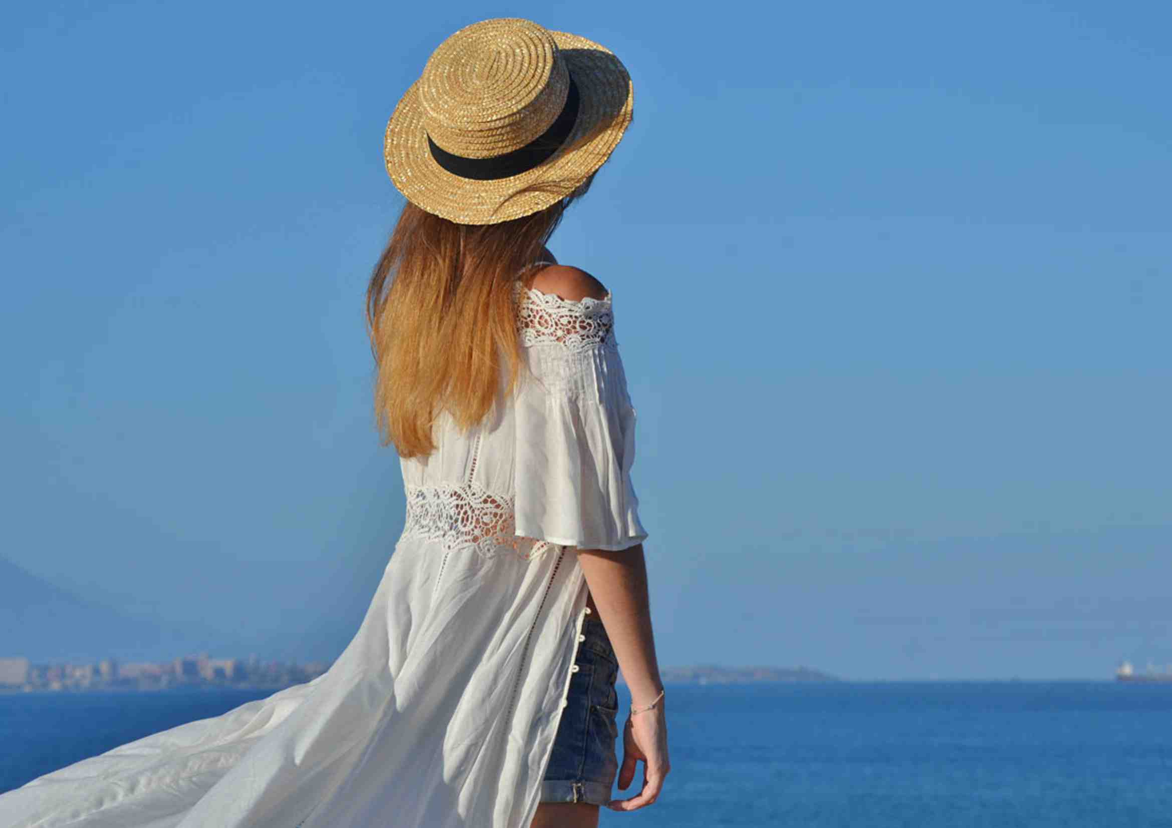 vestidos ibicencos largos blancos
