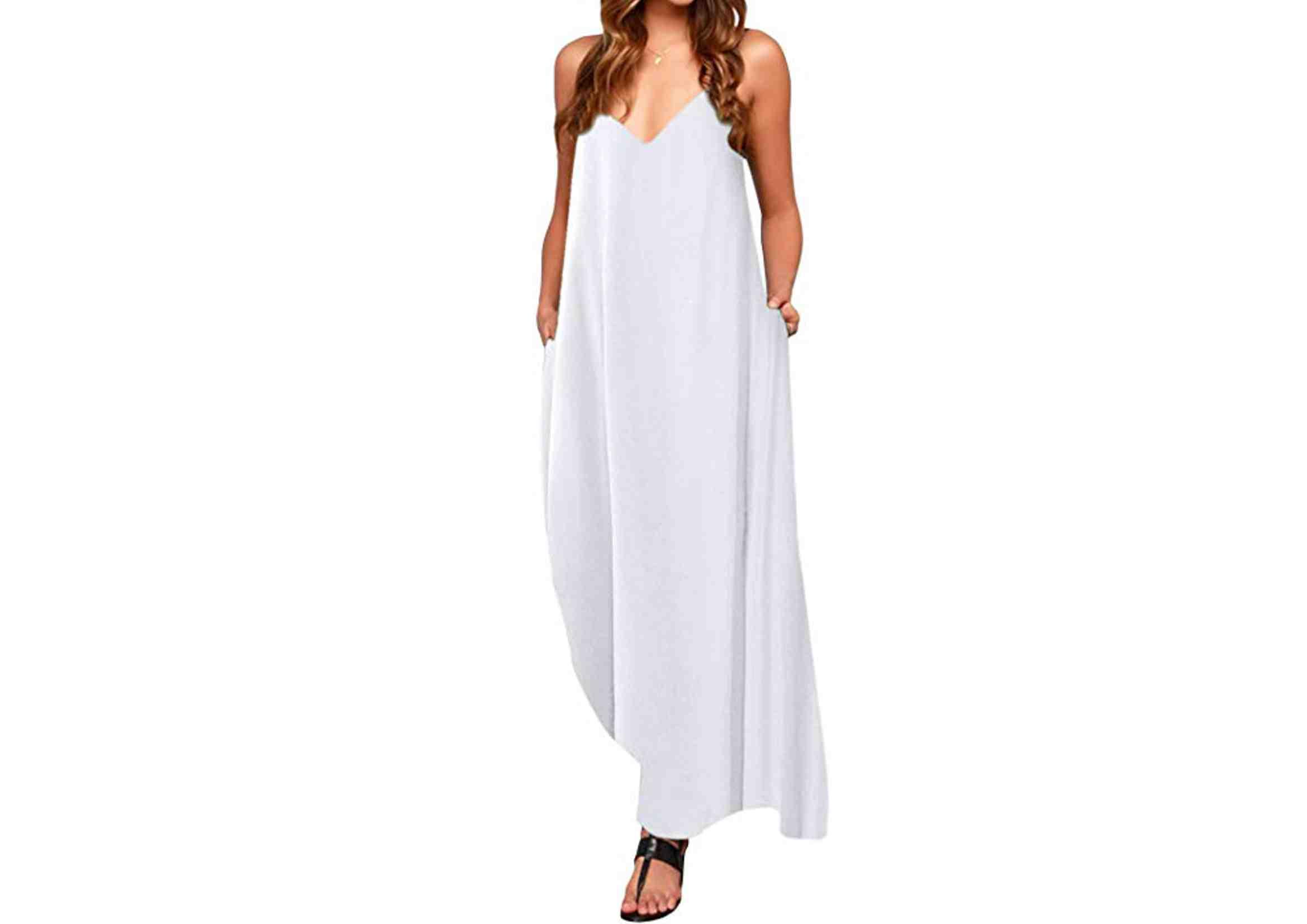 vestidos ibicencos largos casual