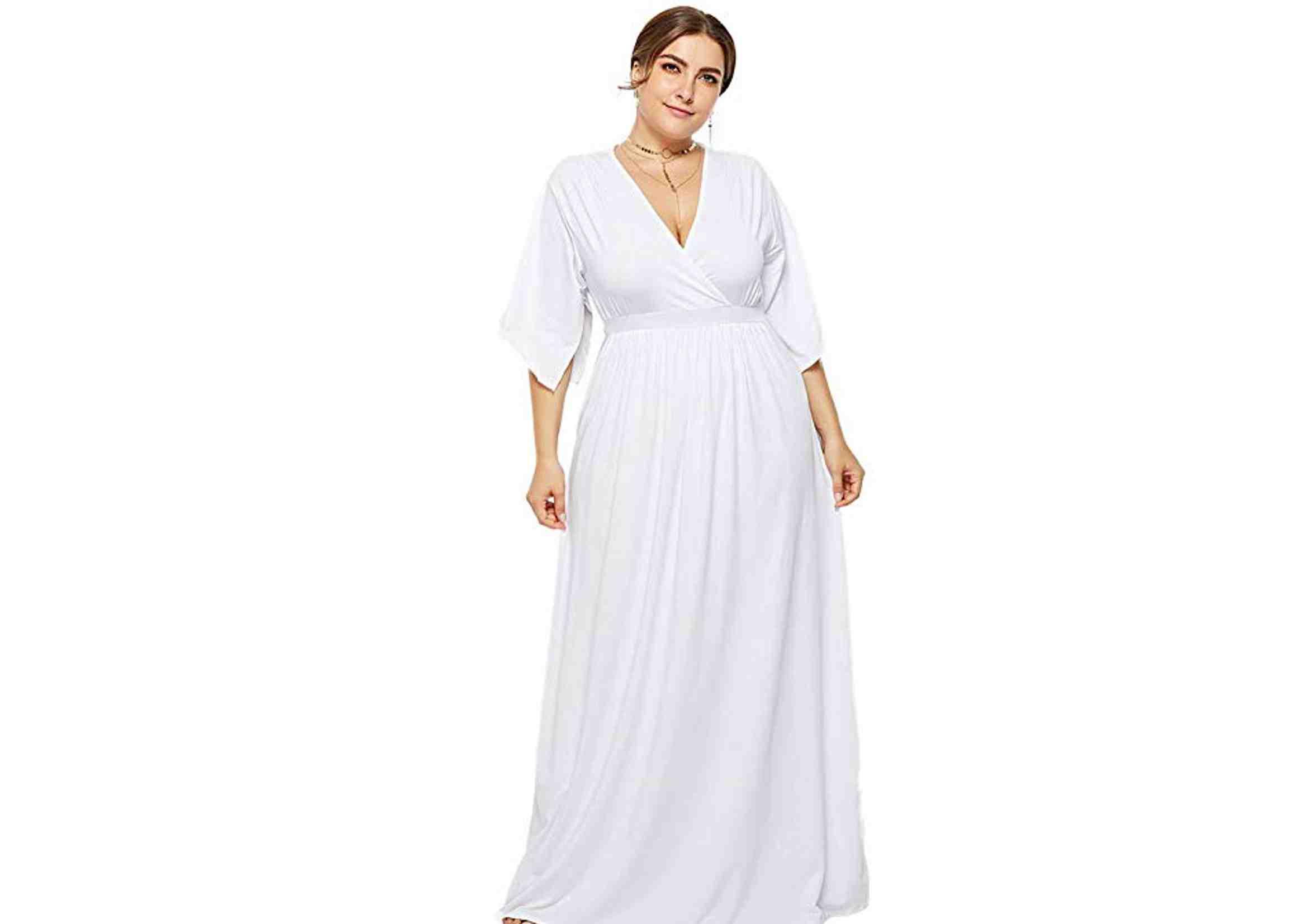 vestidos ibicencos largos tallas grandes