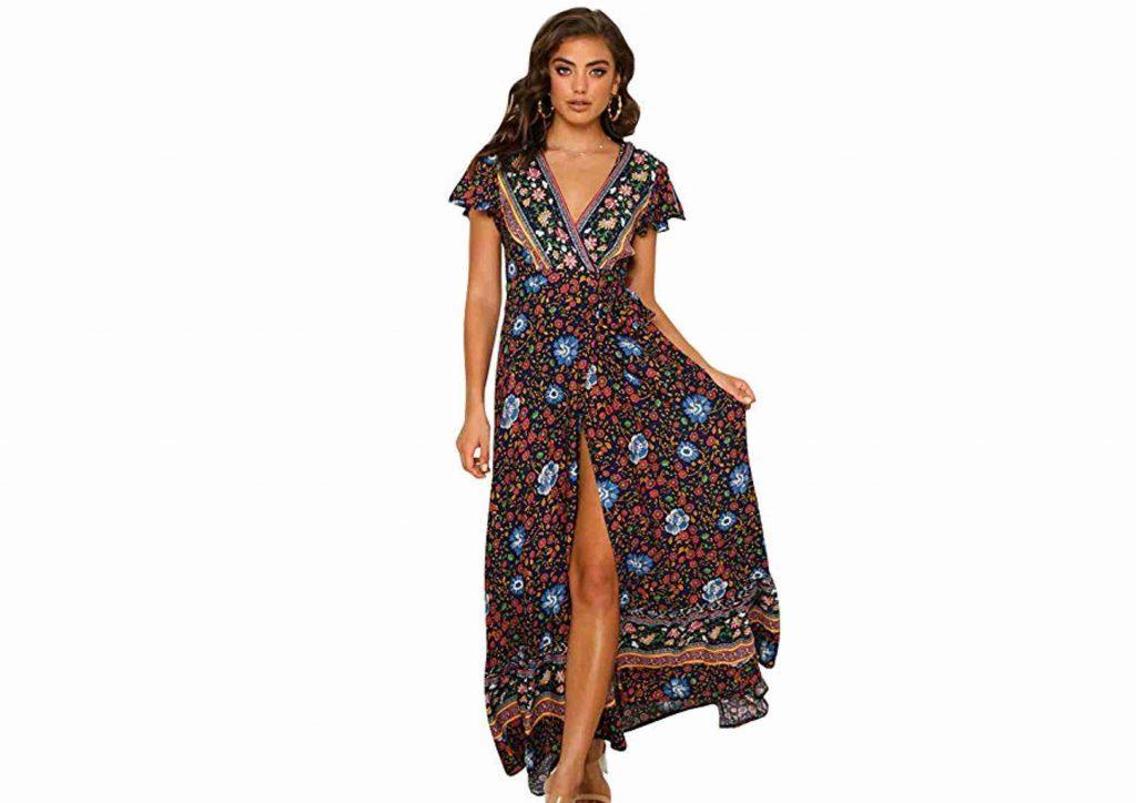 Vestido de Fiesta Hippie