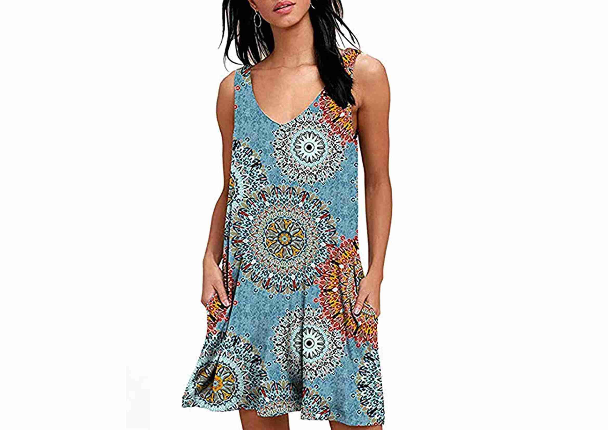 vestidos playeros mandala