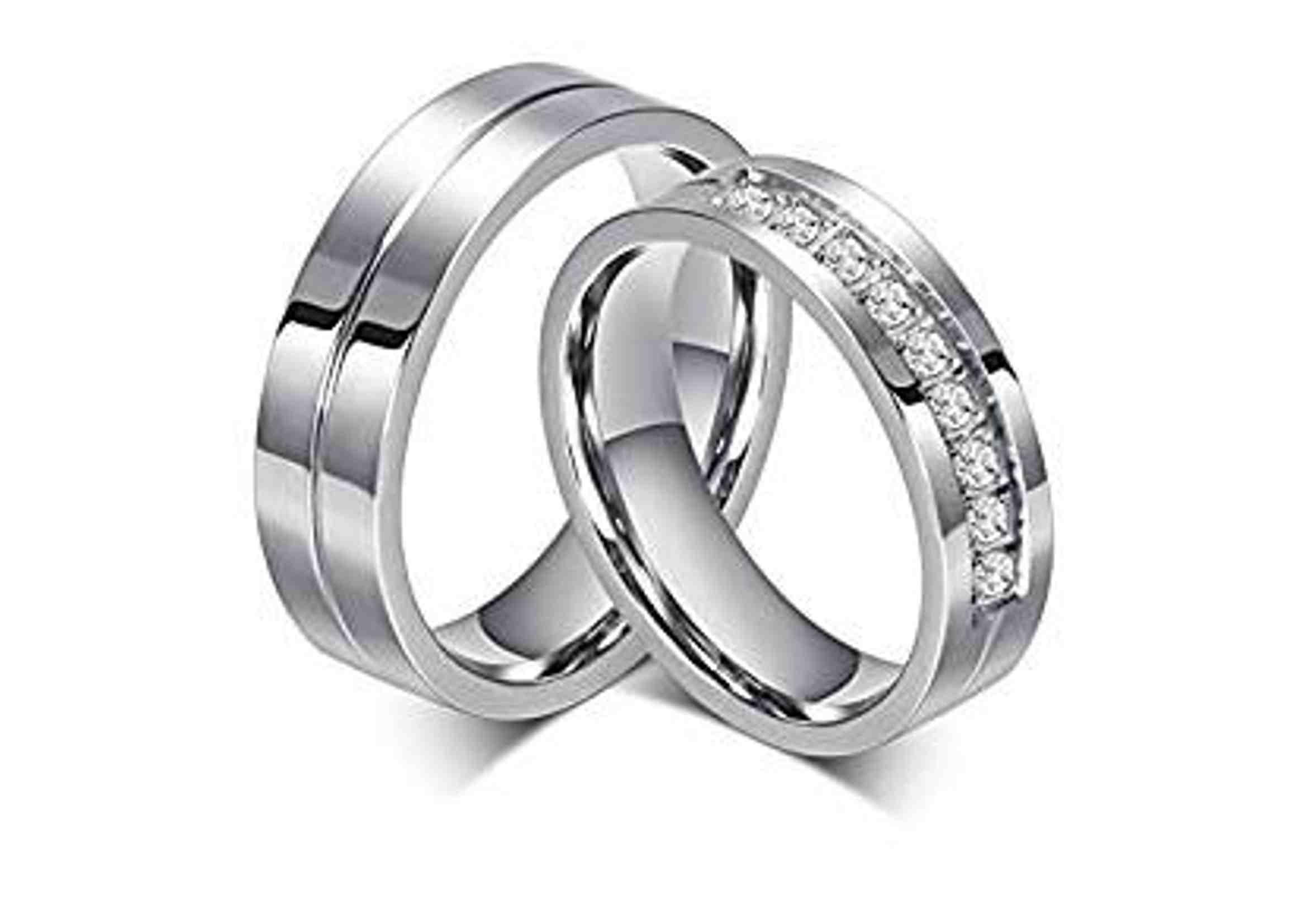 anillos de compromiso pareja