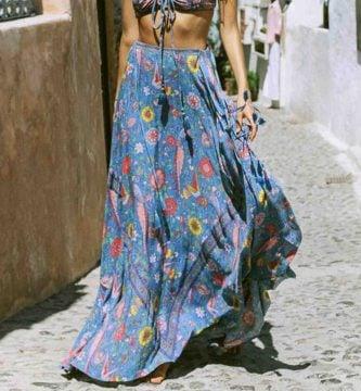 faldas hippies