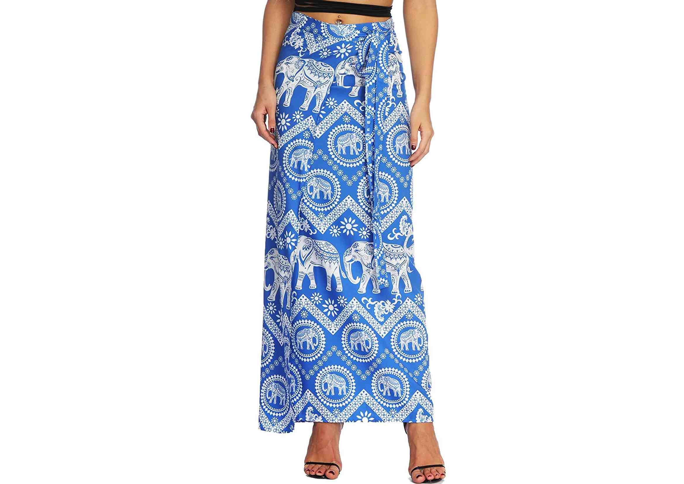 faldas hippies largas