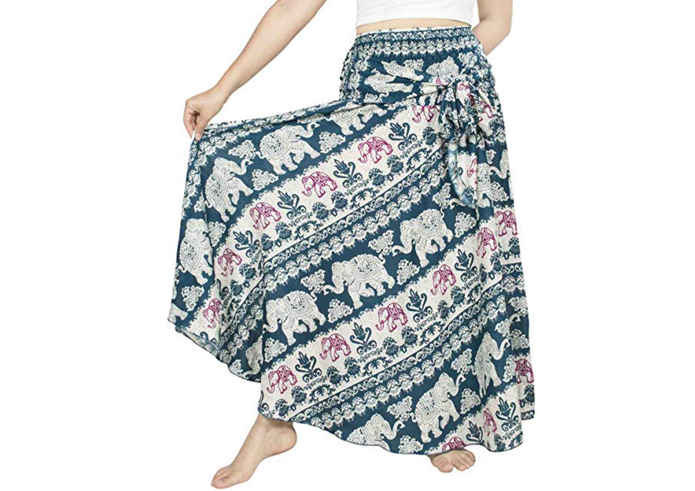 faldas hippies largas gypsy