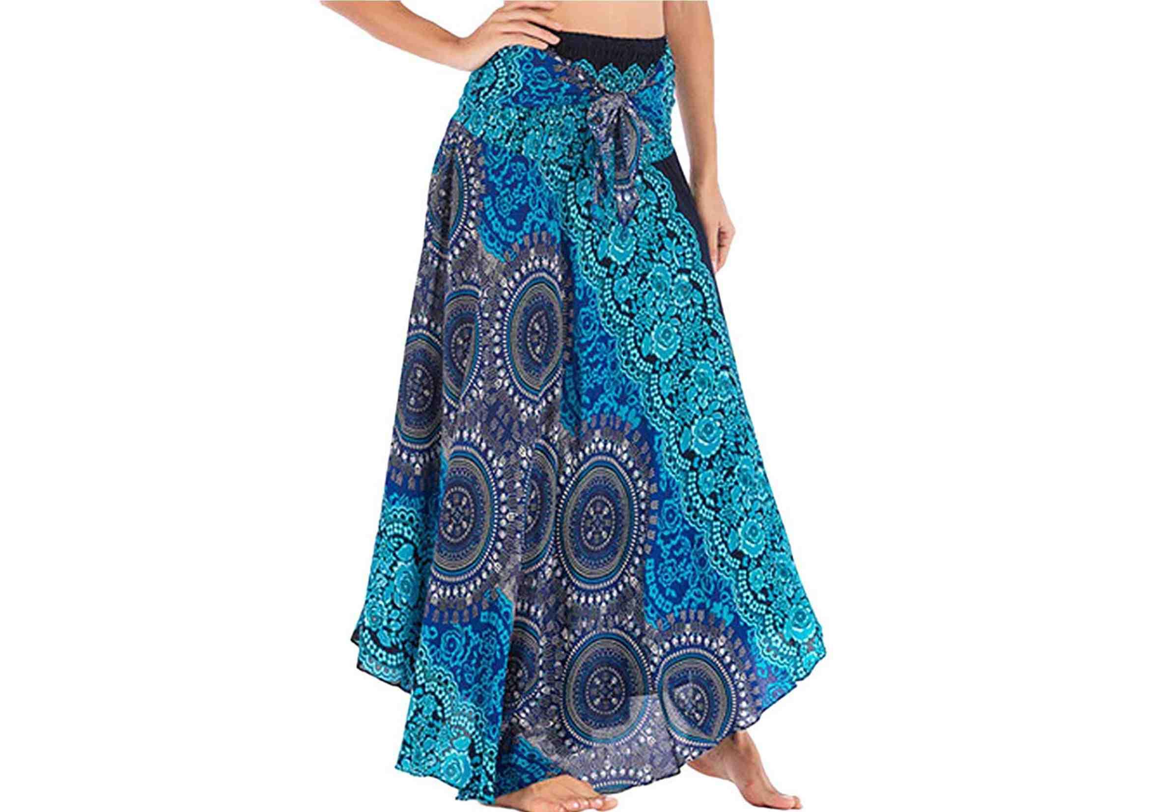 faldas maxi hippies largas