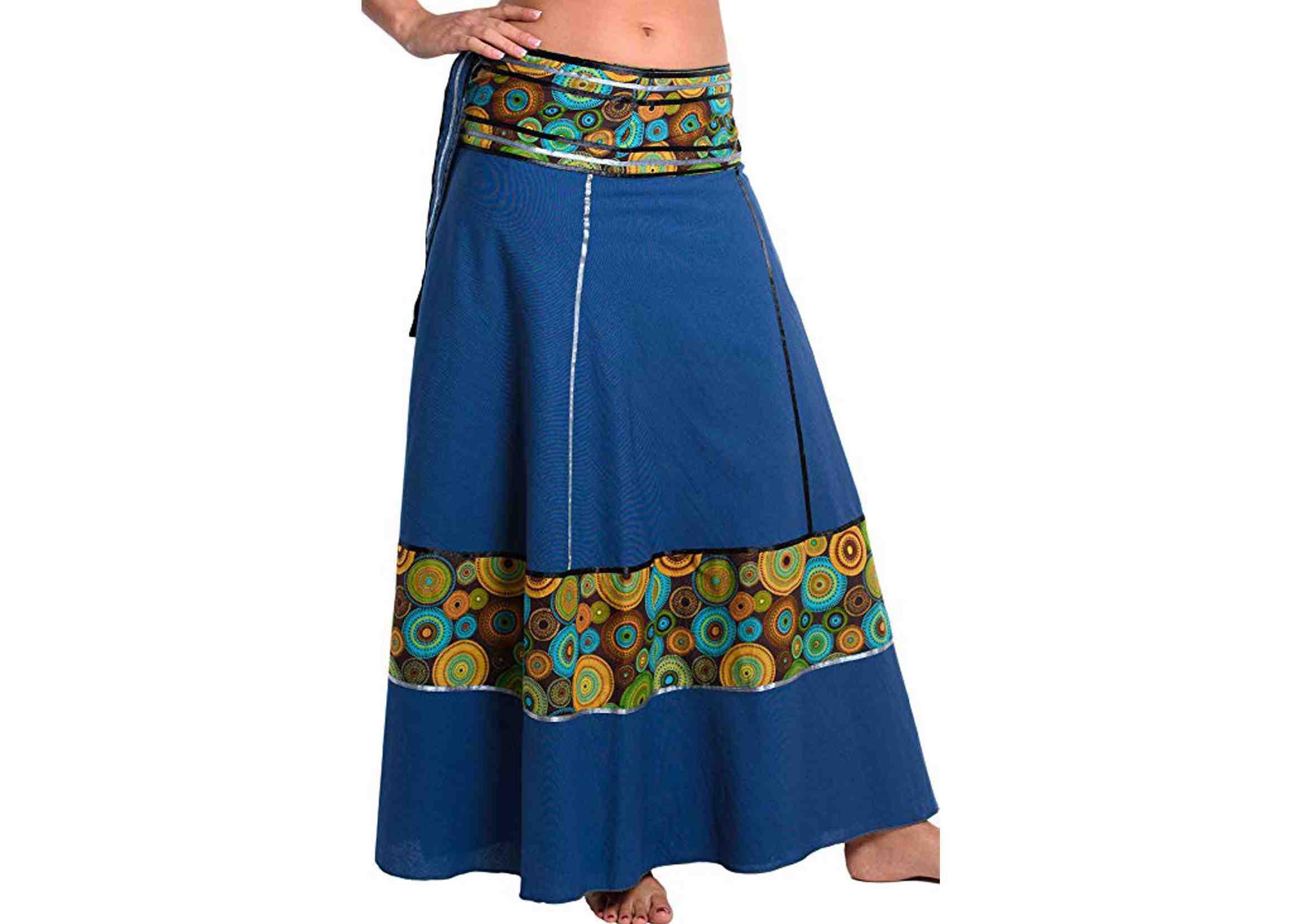 faldas maxi india boho