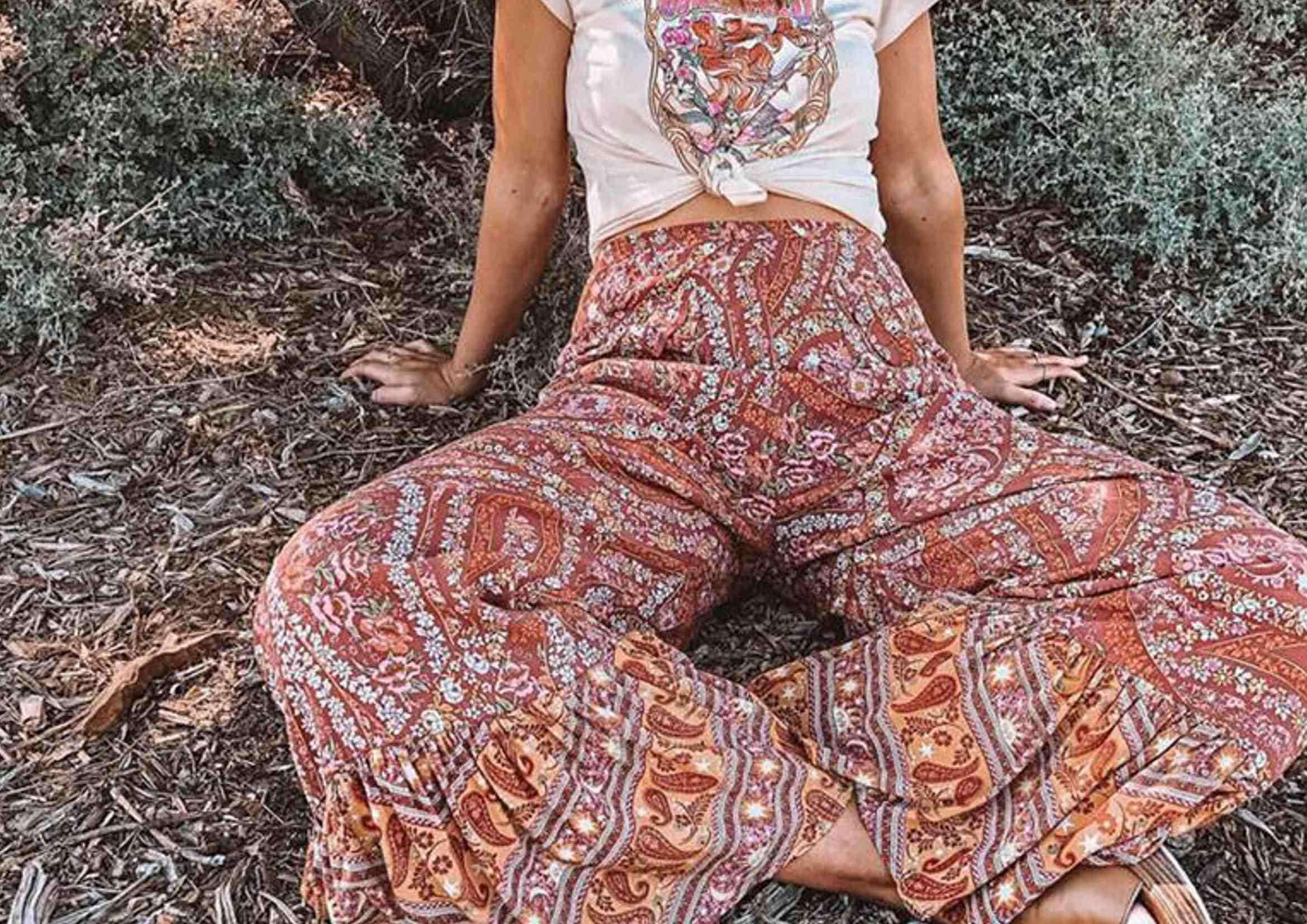 Pantalones Hippies Todos Los Tipos De Pantalones Boho Que Buscas